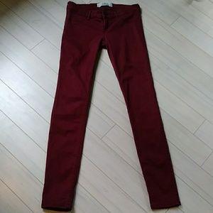 Hollister cranberry jeans